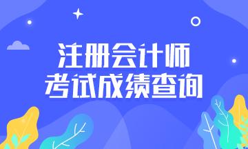 重庆沙坪坝区注会成绩查询时间安排