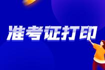 湖南2021注会准考证 速来打印!