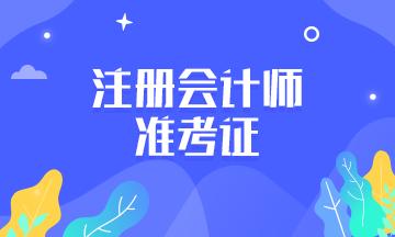 陕西西安2021CPA考试准考证打印好了吗?