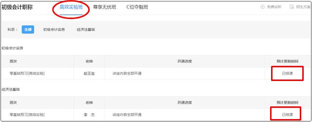 提醒!2022年初级会计【预习阶段】课程更新完毕!