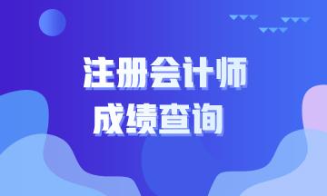 江苏2021年注会成绩查询时间具体啥时候?