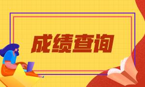 广东东莞CPA成绩查询时间